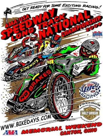 2009 Long Track Poster