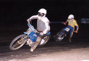 Dave Sharpe (left) and Dave Richard
